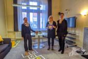 Opferhilfebüro zeigt neugestaltetes Zeugenschutzzimmer am Landgericht Bückeburg