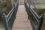 Tropenholz statt heimischer Bohlen? Fußgängerbrücke sorgt für Nachfrage aus der Politik
