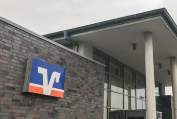 Volksbank schließt vorübergehend Bankstellen