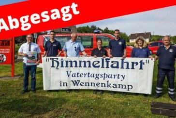 Wennenkamp: Vatertagsparty findet nicht statt