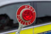 Falsche Kennzeichen und Amphetamine bei Verkehrskontrolle gefunden