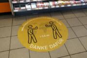 """Abstand halten, Verantwortung übernehmen"": DSK Dekoservice bietet ""Social Distancing""-Matten an"