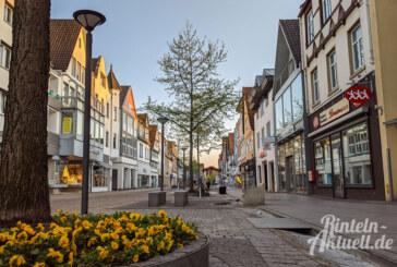 Rintelner Einzelhandel öffnet wieder: 1,5 Meter Mindestabstand, höchstens ein Kunde pro 10 Quadratmetern Verkaufsfläche
