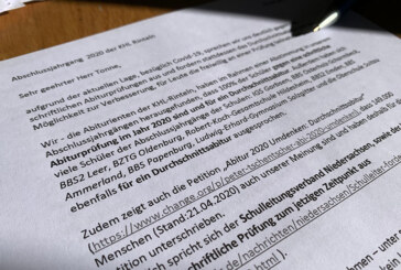 Durchschnittsabitur statt schriftlicher Abiprüfung: Schüler schreiben Brief an Kultusminister Grant Hendrik Tonne