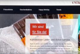 Jetzt noch rechtzeitig für Ostern bestellen: Unikum Geschenke mit Lokal-Webshop