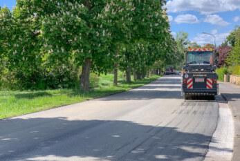 Rinteln: Dankerser Straße und Drift bekommen frischen Asphalt aufgetragen