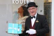 Parfümerie Koulen liefert Geschenke auf dem Silbertablett