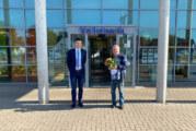 Bernd Appel gewinnt 5.000 Euro beim VR-Gewinnsparen