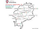 Aktuelle Corona-Zahlen für den Landkreis Schaumburg vom 25. Mai