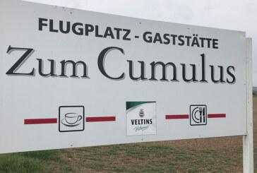 """Rinteln: Gaststätte """"Cumulus"""" am Flugplatz öffnet wieder"""