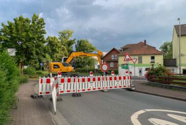 Mit großen Schritten zum Finale: Dankerser Straße bekommt neue Fahrbahn