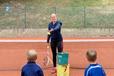 Carolina Zehrer ist neue C-Trainerin beim Tennisverein Rot-Weiß Rinteln
