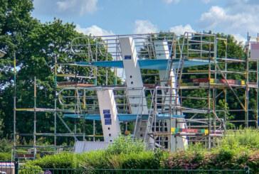 Freibad Rinteln: Sprungturm wird saniert
