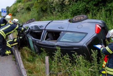 A2: Verkehrsunfall zwischen Veltheim und Vennebeck
