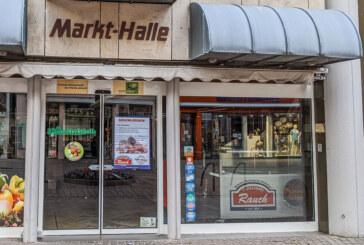 Fleischerei Rauch in der Markthalle geschlossen
