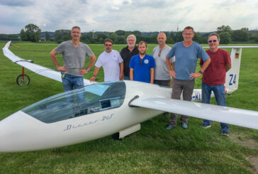 LSV Rinteln mit 25 Punkten Abstand zu Platz 2 der Segelflug-Bundesliga