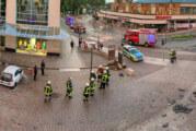 Verkehrsunfall in Fußgängerzone folgte offenbar auf Messerangriff in der Nordstadt