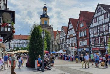Schnäppchen, Leckeres und eine gut besuchte Innenstadt