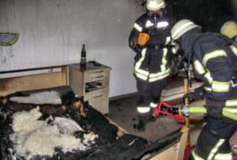 Porta Westfalica: Zimmerbrand in Seniorenheim