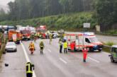 Ein Mensch stirbt bei schwerem Unfall auf A2 zwischen Bad Eilsen und Veltheim