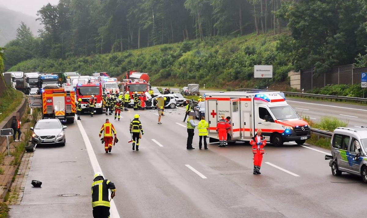 Unfall Auf A2 Aktuell