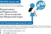 """Stadt Rinteln veröffentlicht Corona-Flyer Nr. 11 / Mit """"AHA"""" und """"CL"""" durchs Jahr"""