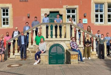 """""""Konzern Stadt Rinteln"""" stellt neue Auszubildende vor"""