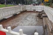Steinbergen: Gerissene Betonplatten auf Fahrbahn im Kreuzungsbereich werden getauscht