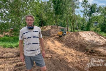 Rinteln: Arbeiten am Mountainbike-Park laufen auf Hochtouren