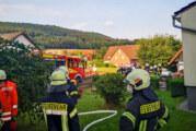 Feuerwehreinsatz in Steinbergen: Rauchentwicklung im Gebäude
