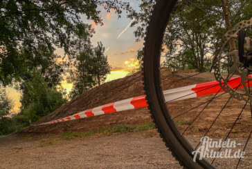 Biker sauer: Unbekannte befahren unfertigen Gravity-Park am Heinekamp