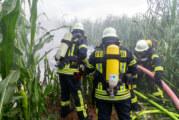 Flugzeugabsturz in Porta Westfalica: Pilot verstorben / Mehrstündiger Einsatz für Rettungskräfte und LKA