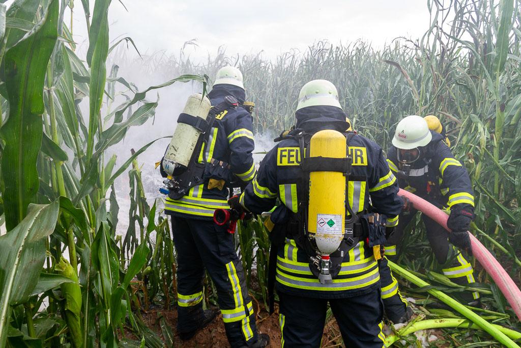 Flugzeugabsturz In Porta Westfalica Pilot Verstorben Mehrstundiger Einsatz Fur Rettungskrafte Und Lka