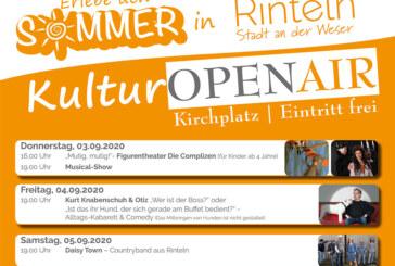 6 Tage Kultur-Open-Air in Rinteln: Stadt bietet Programm für Groß und Klein