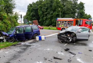 Doppelter Einsatz für Feuerwehr: Zwei Verkehrsunfälle im Bereich Veltheim