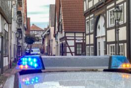 Polizei und Rettungsdienst: Einsatz in Rintelner Altstadt