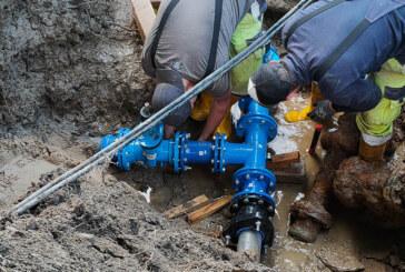 Teile von Exten und Strücken wegen Defekten über 12 Stunden lang ohne Wasser