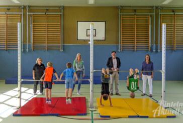 """""""Volles Programm"""": Sporthalle in Krankenhagen für 70.000 Euro saniert"""