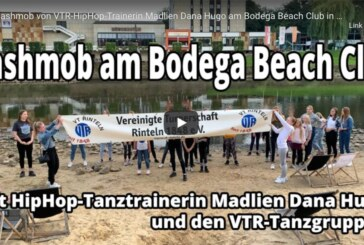HipHop-Flashmob am Bodega Beach Club