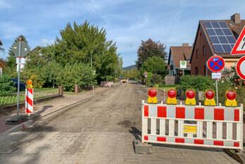 Drift-Durchfahrt gesperrt: Zweiter Bauabschnitt gestartet