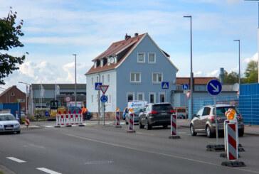 Rinteln: Bauarbeiten am Kreisverkehr in der Konrad-Adenauer-Straße gestartet