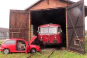 Schienenbusfahrt nach Starthilfe