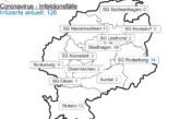 Corona: Inzidenzzahl in Schaumburg steigt auf 67,8 / 678 Menschen in Quarantäne