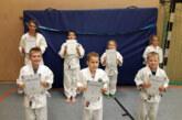 Sieben Mal bestanden: Junge Judoka absolvieren erste Gürtelprüfungen