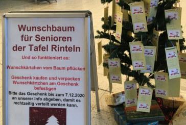 Auch in diesem Jahr im Marktkauf: Wunschbaum für Senioren der Tafel Rinteln