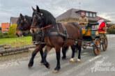 Exten: Nikolaus mit Pferdekutsche unterwegs