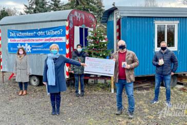 Kinderschutzbund statt Kunden beschenkt: 1.000 Euro Spende für Projektarbeit mit Jugendlichen