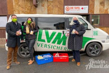 Gutes aus dem Hofladen: LVM Versicherungsagentur Heiko Vieth spendet für Rintelner Tafel