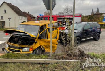Zwei Verletzte bei Verkehrsunfall in Möllenbeck