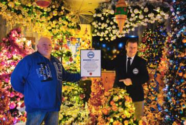 Weihnachten extrem mit 420 Bäumen: Eheleute Jeromin aus Volksen steigern Weltrekord